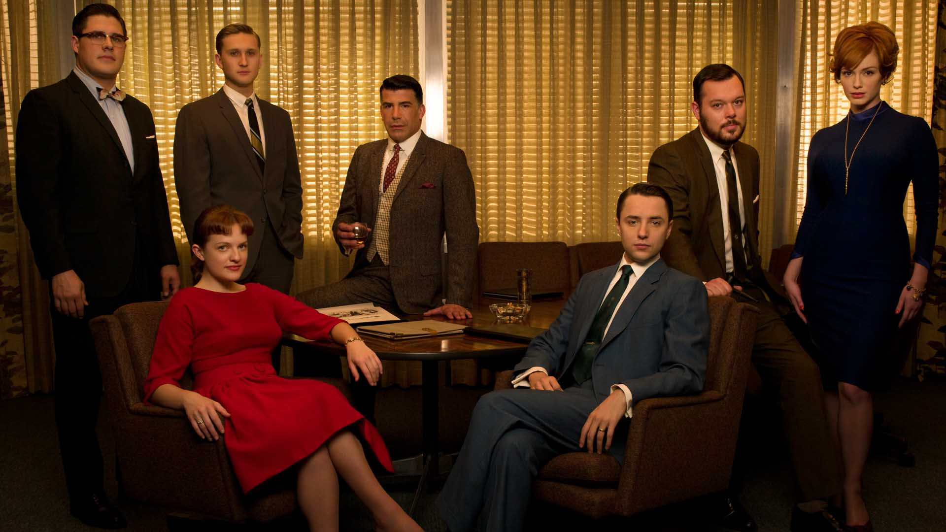 What is a Wrap Party?: Mad Men Wrap Party