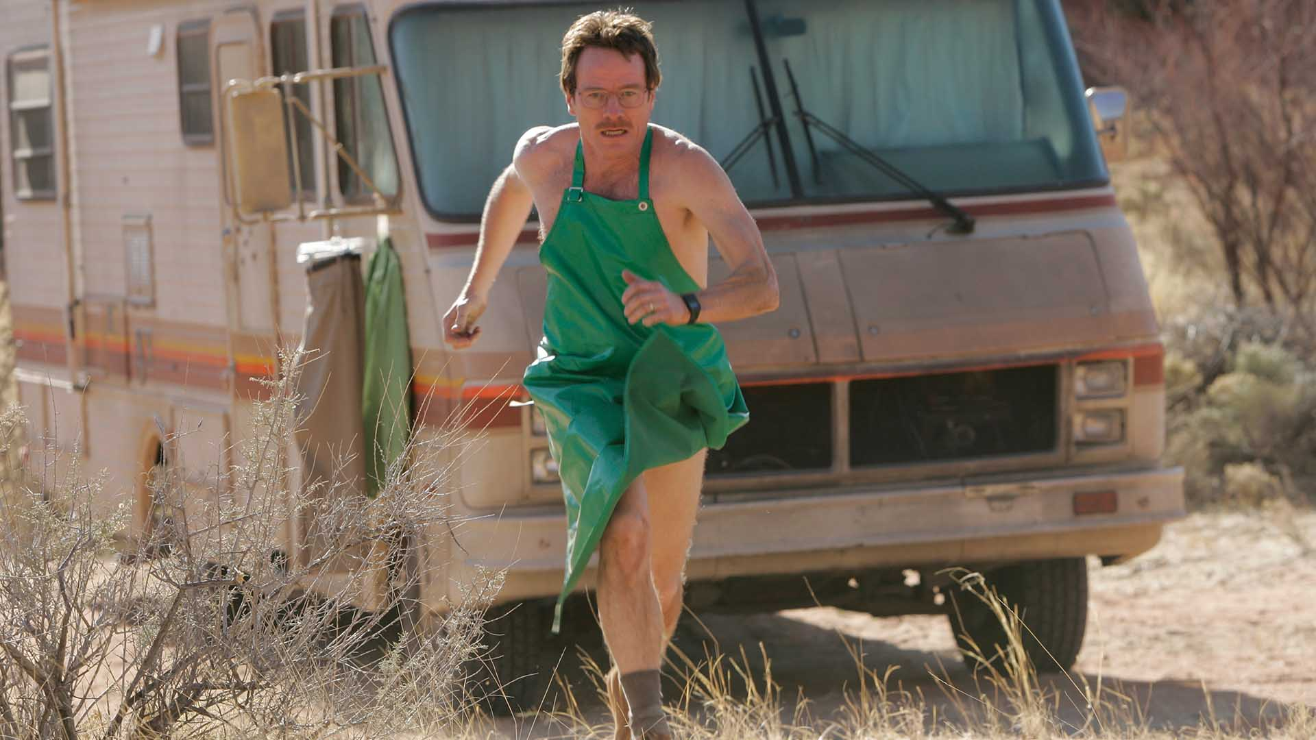 Walter white green apron - Video Extra Breaking Bad Highlights Episode 101 Breaking Bad Pilot Amc