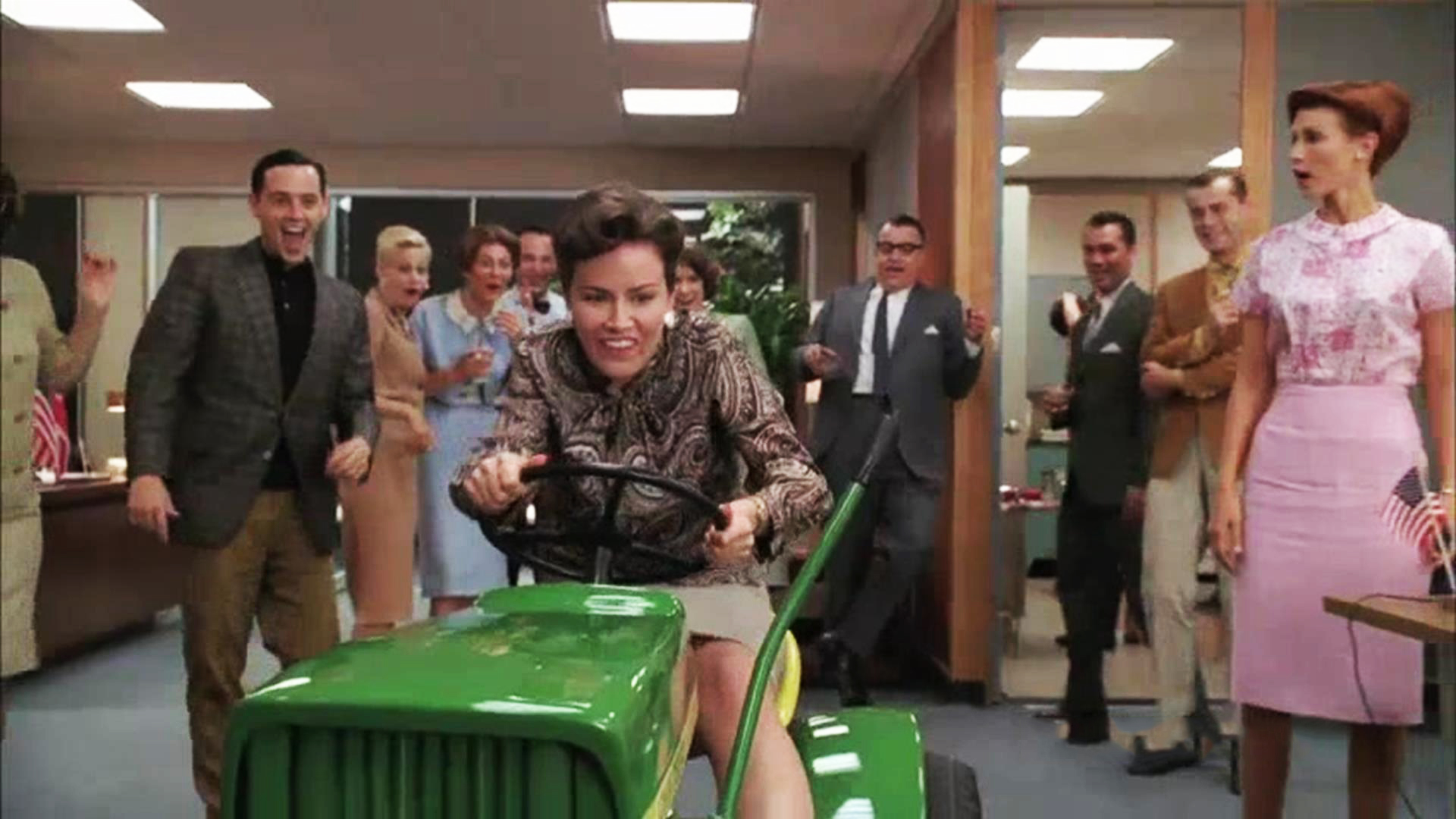 Mad Men Office video extra - mad men - talked about scene episode 306 mad men