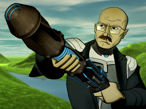 Team S.C.I.E.N.C.E.: Breaking Bad Animated Webisode