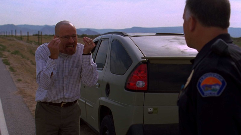 Talked About Scene Episode 302 Breaking Bad: Walt Gets Arrested
