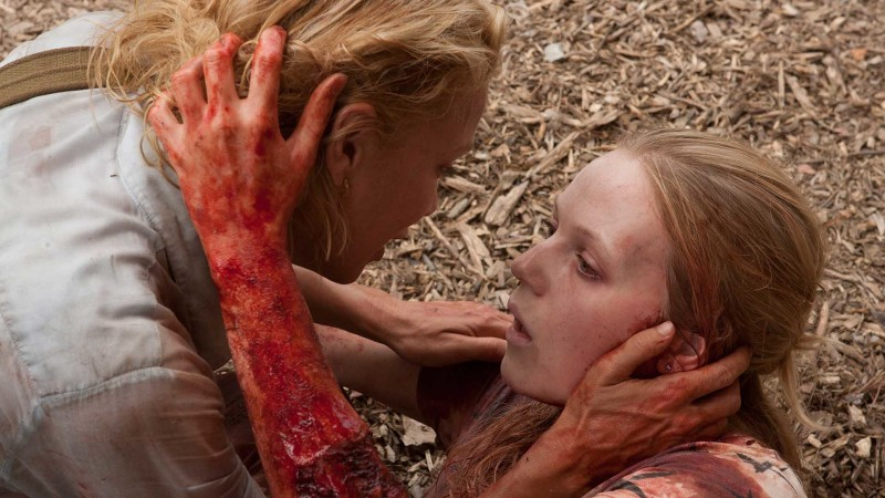 Talked About Scene Episode 105 The Walking Dead: Andrea Copes With Her Sister's Death