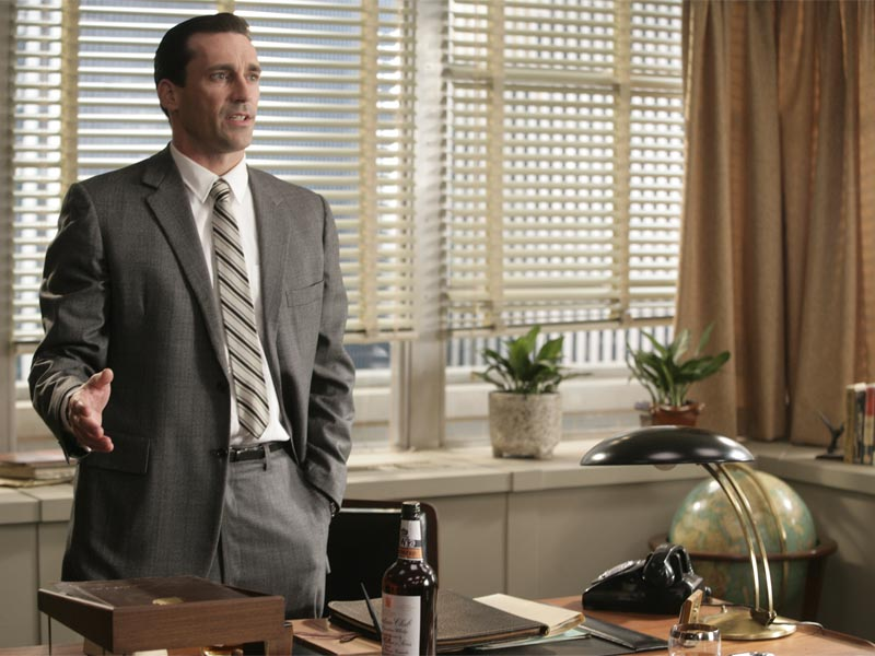 Don Draper (Jon Hamm) - Mad Men - Season 1, Episode 1 - Photo Credit: Craig Blankenhorn/AMC