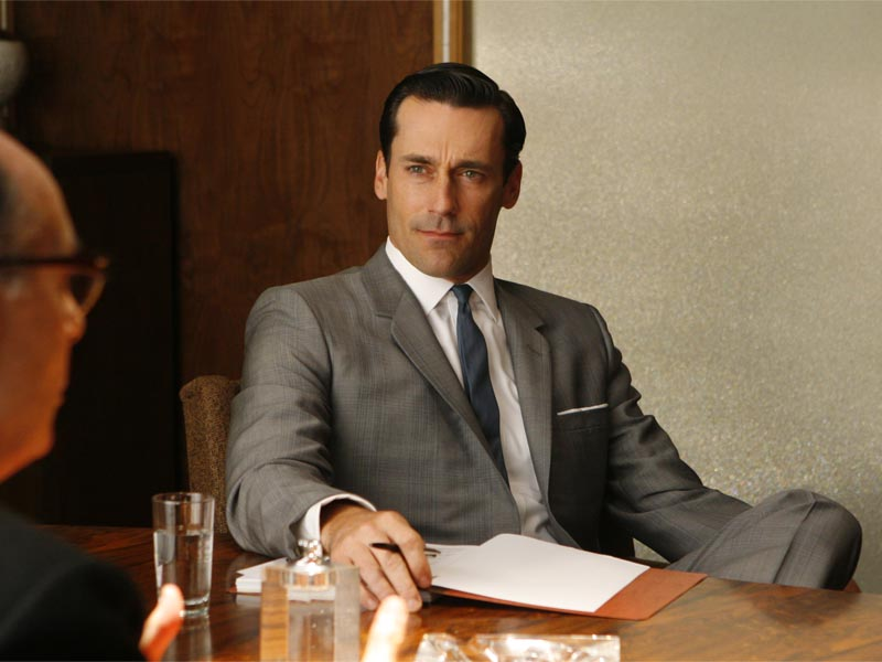 Don Draper (Jon Hamm) - Mad Men - Season 1, Episode 10 - Photo Credit: Carin Baer/AMC