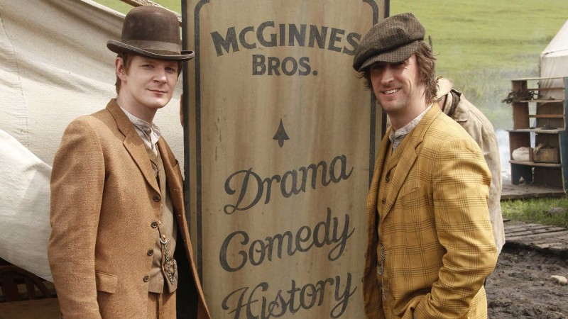 The McGinnes Brothers: Hell On Wheels