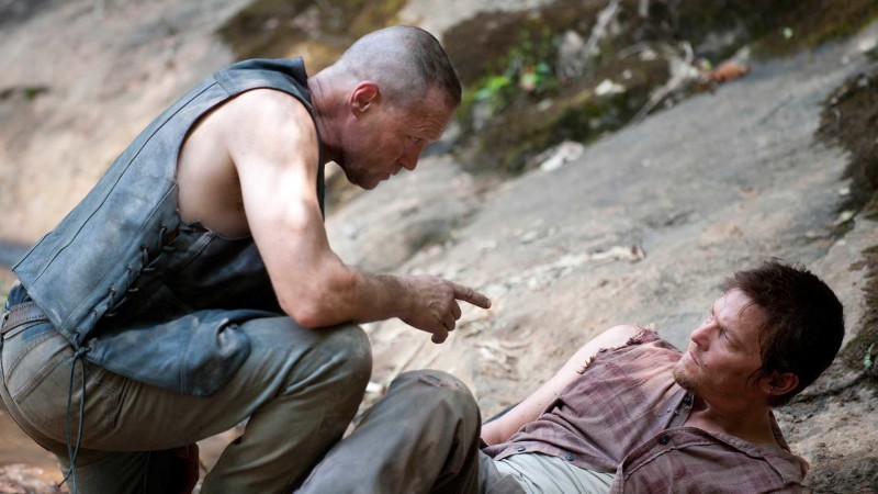 Inside Episode 205 The Walking Dead: Merle is Back