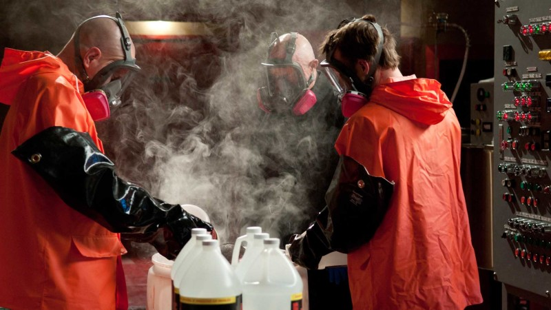 Meth Making in the Superlab: Inside Breaking Bad