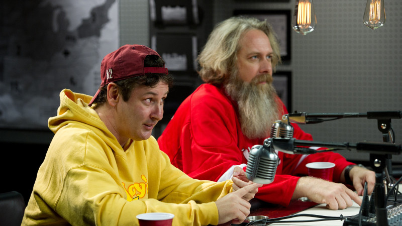 Walt and Brian - Comic Book Men_Season 1 - Photo Credit: David Russell/AMC