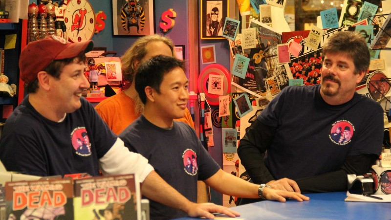Extended Scene Episode 101, Blood Splattered Heels: Comic Book Men