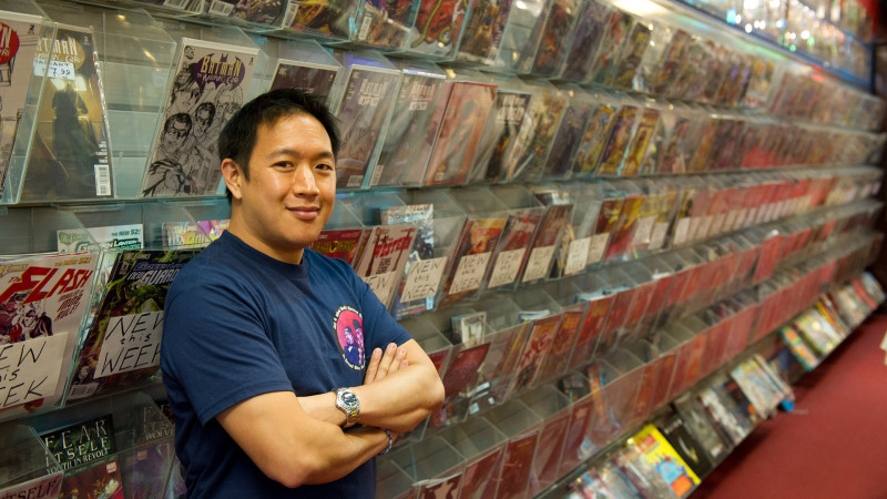Ming Chen - Comic Book Men_Season 1 - Photo Credit: David Russell/AMC