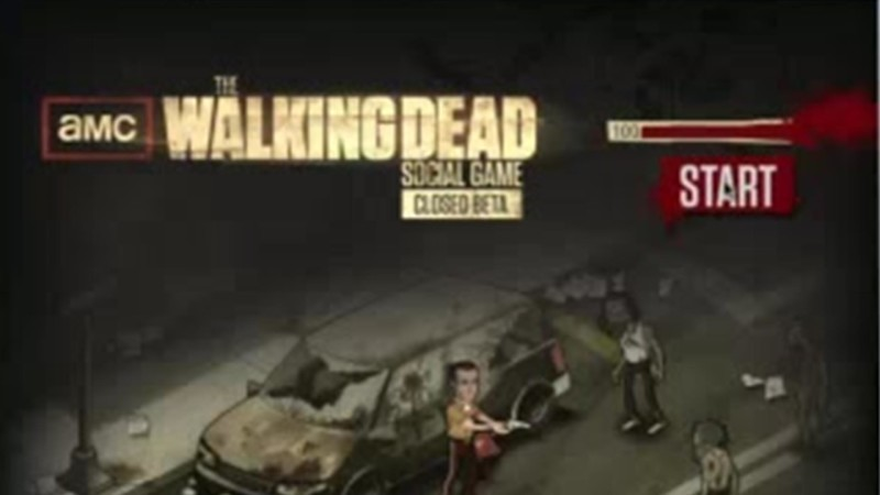 AMC The Walking Dead Social Game on Facebook