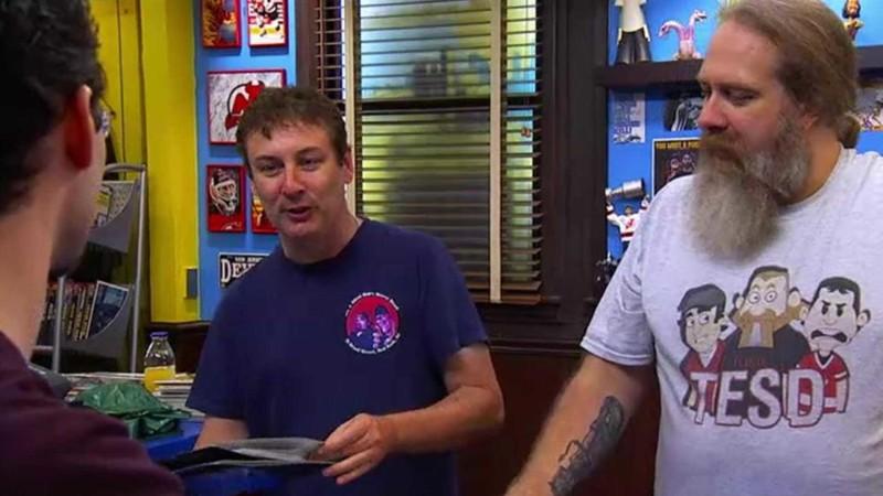 Talked About Scenes Episode 205 Comic Book Men: Star Wars Laser Discs