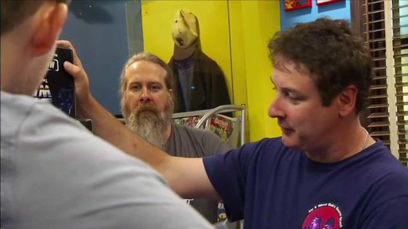 Talked About Scene Episode 211 Comic Book Men: Star Wars Starships