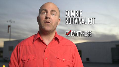 Zombie Survival Tips, Pantyhose: Talking Dead