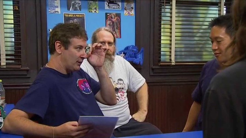 Talked About Scene Episode 215 Comic Book Men: Comic Charades