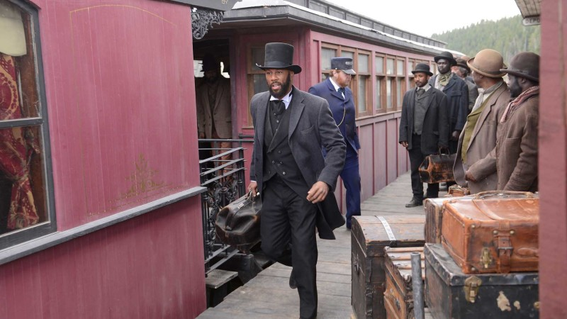 On Set, Building Season 3: Hell on Wheels