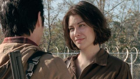 On Set With Lauren Cohan: Looking Great in the Apocalypse: The Walking Dead