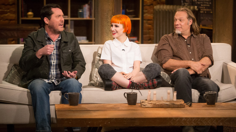 Highlights: Episode 402: Talking Dead: Hayley Williams, Doug Benson, and Greg Nicotero on Three Questions