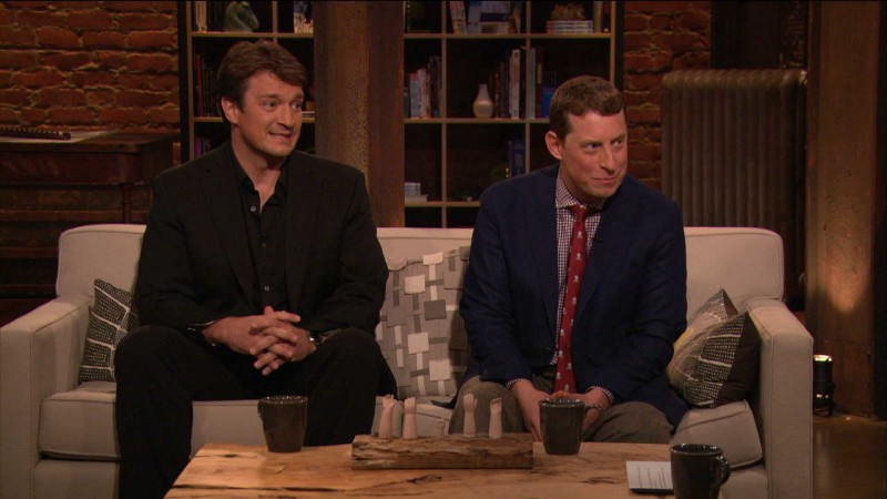 Scott Gimple and Nathan Fillion on Clara: Episode 401: Talking Dead