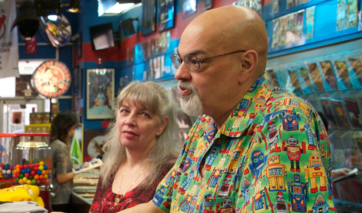 <em>Comic Book Men</em> Q&#038;A &#8211; George Perez