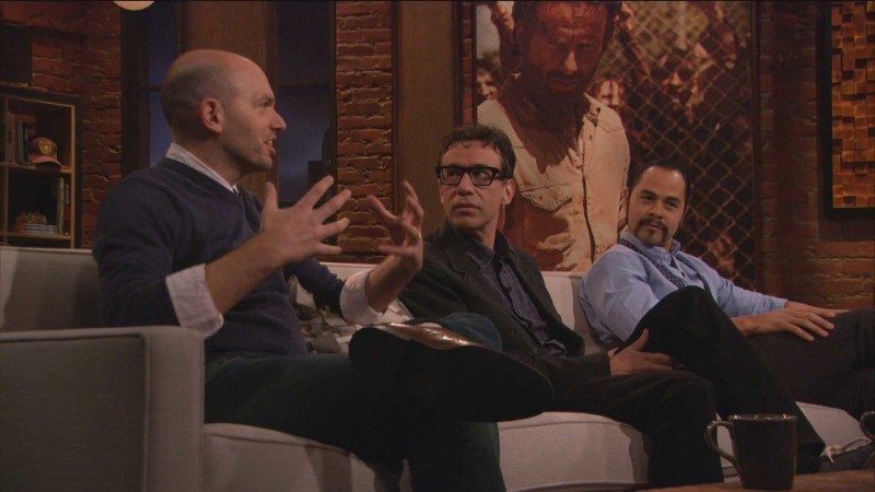 Highlights: Episode 407: Talking Dead: Fred Armisen, Paul Scheer, and Jose Pablo Cantillo on the Governor's Return