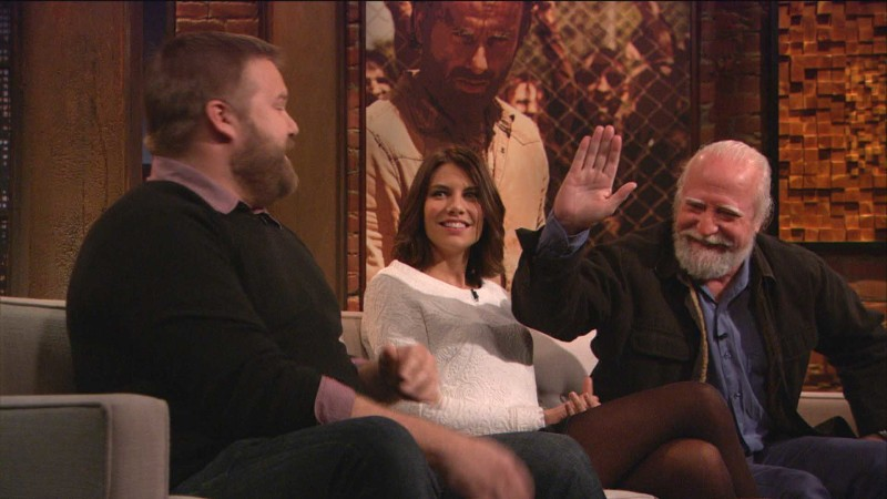 Scott Wilson, Lauren Cohan, and Robert Kirkman on Hershel: Episode 408: Talking Dead