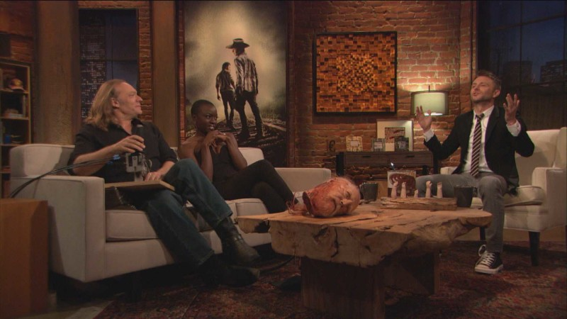 Highlights: Episode 409: Talking Dead: Greg Nicotero on Hershel's Decapitated Head