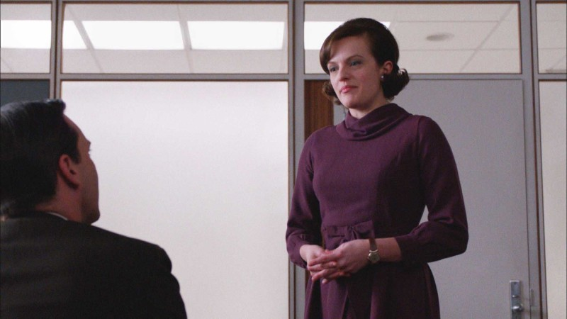 Then and Now: Peggy Olson: Mad Men