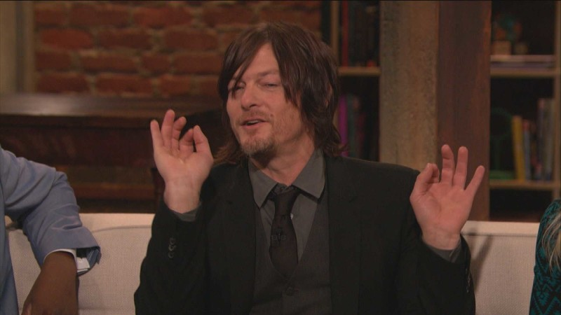 Highlights: Episode 412: Talking Dead: Norman Reedus on Throwing Darts