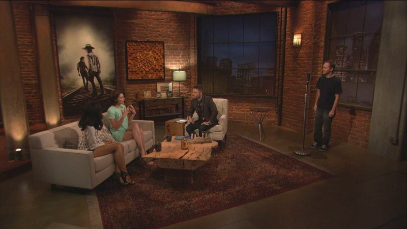 Highlights: Episode 413: Talking Dead: Lauren Cohan on Beth