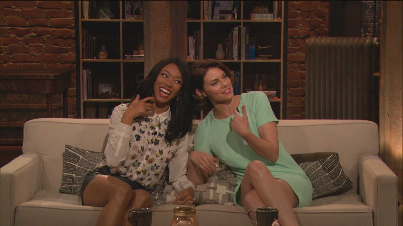 Highlights: Episode 413: Talking Dead: Sonequa Martin-Green on Bob Stookey