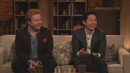Steven Yeun on His Catchphrase: Episode 415: Talking Dead