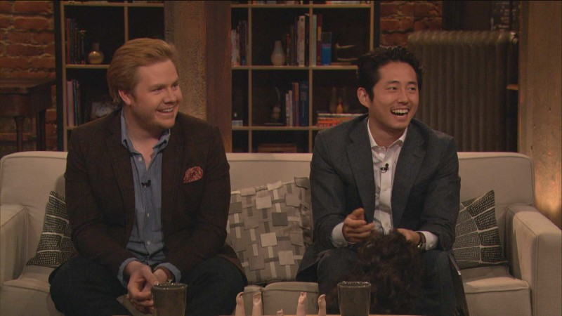 Steven Yeun on His Catchphrase: Episode 415: Talking Dead
