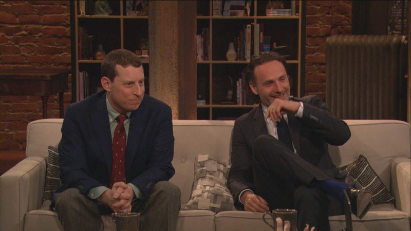 Highlights: Episode 416: Talking Dead: Andrew Lincoln on Celebrities in the Apocalypse