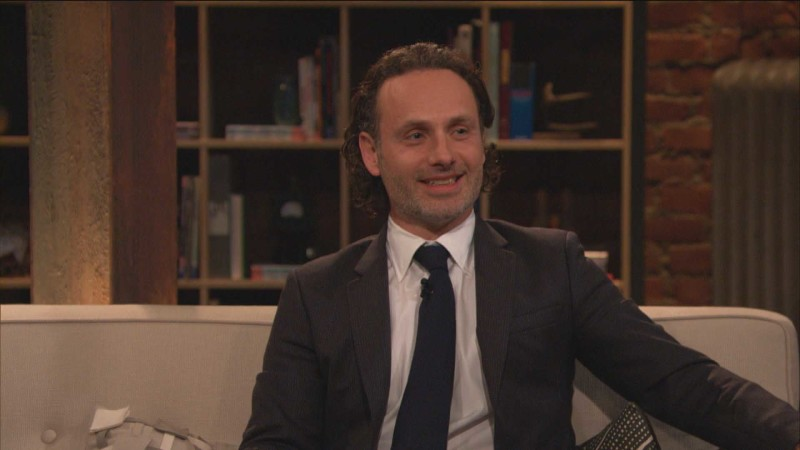 Highlights: Episode 416: Talking Dead: Andrew Lincoln on His Throat Stunt