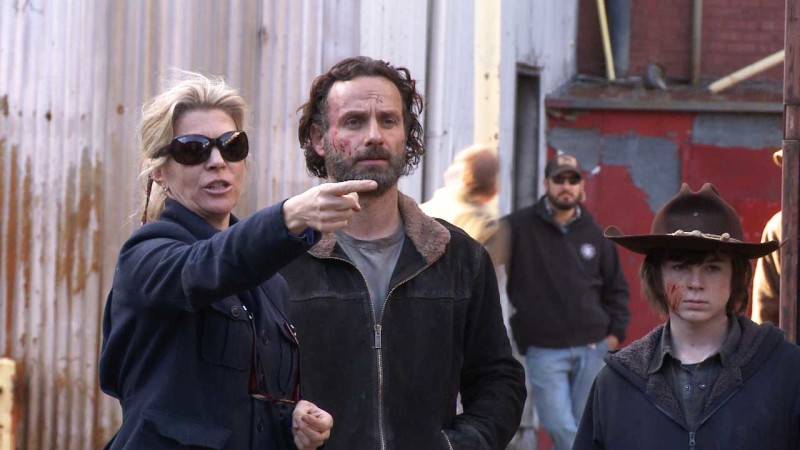 (SPOILERS) Making of Episode 416: The Walking Dead: A