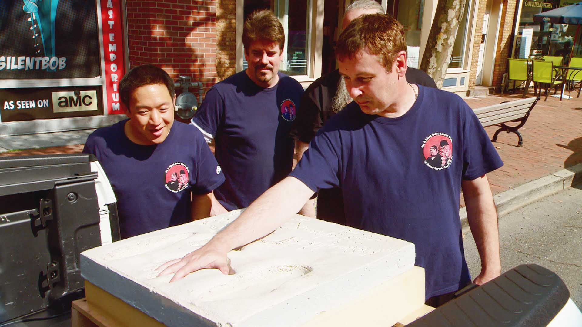 Talked About Scene: Episode 406: Comic Book Men: Bat Prints