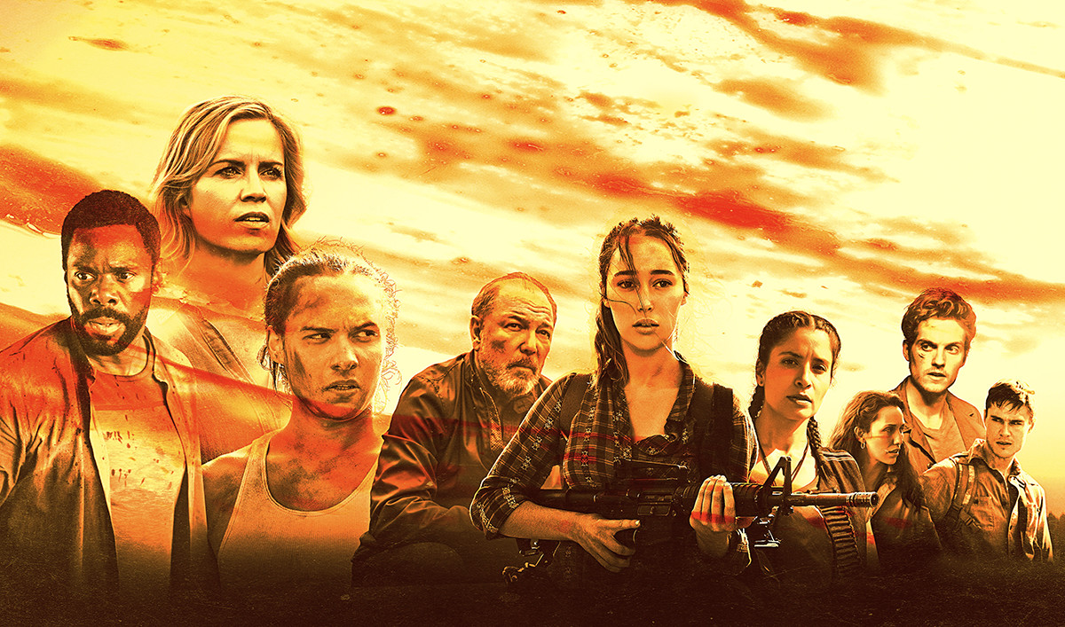 Amc Releases The Comic Con Poster For Fear The Walking Dead