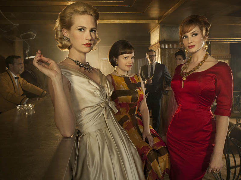 Mad men season episode and cast information amc Mad style fashion life trend