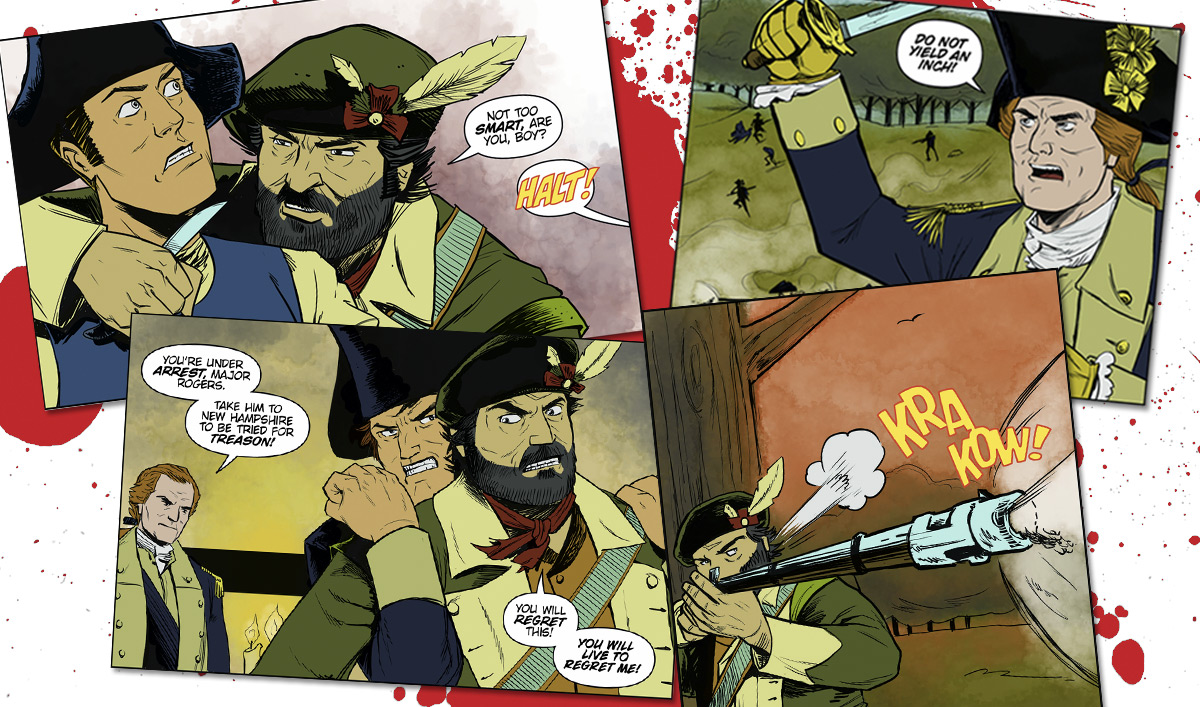 Complete <em>TURN: Washington's Spies: Rivals</em> Comic Now Online