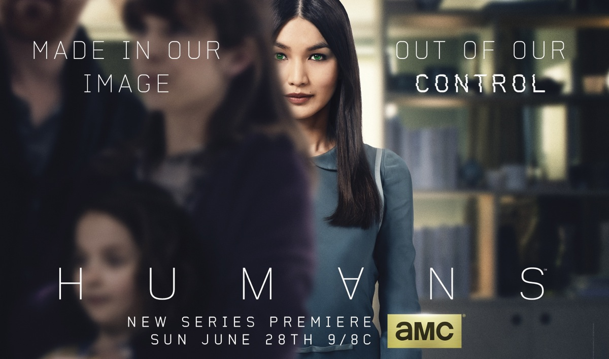Poster Released and Premiere Date Announced for <em>Humans</em>