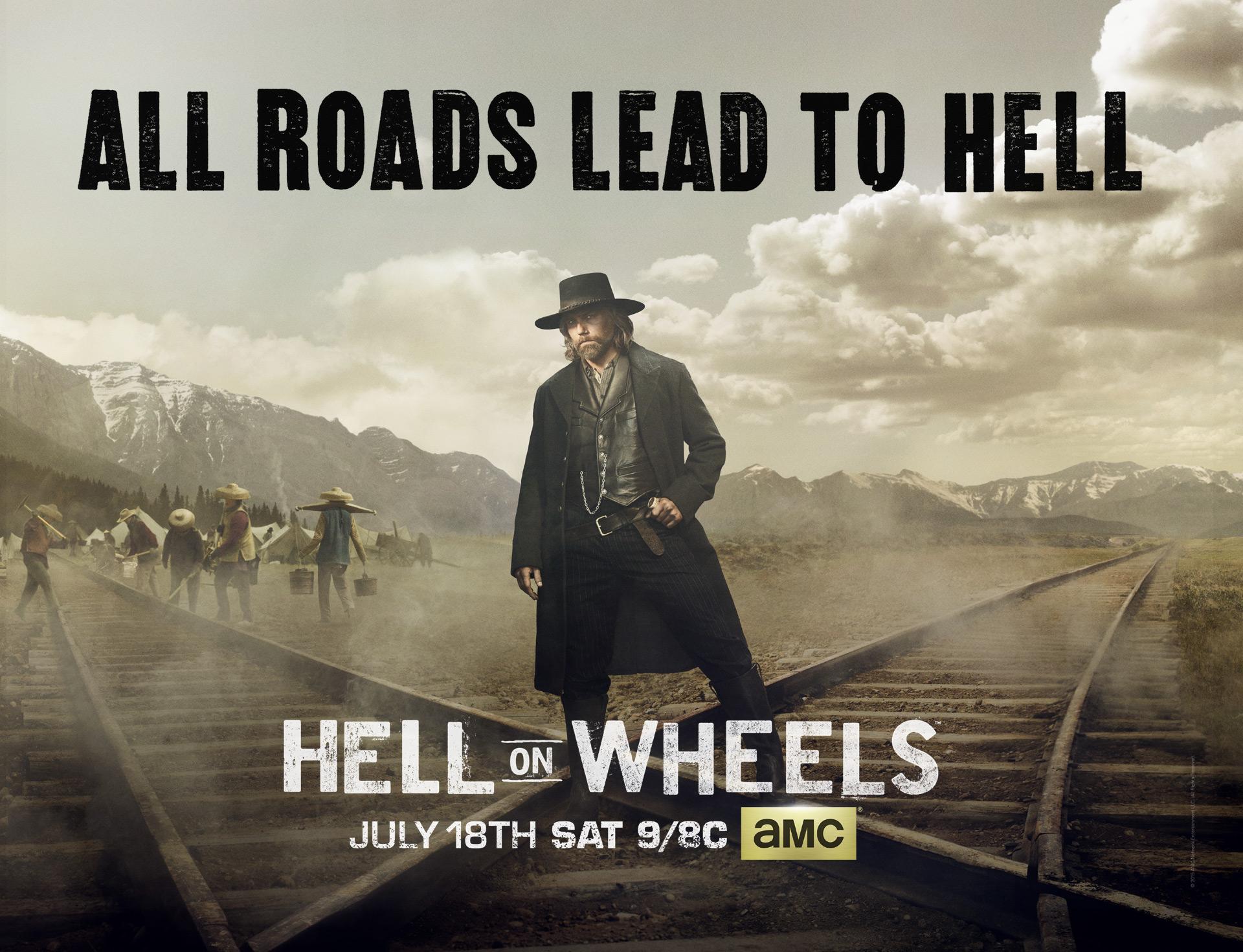 Hell on Wheels 5x13 Espa&ntildeol Disponible