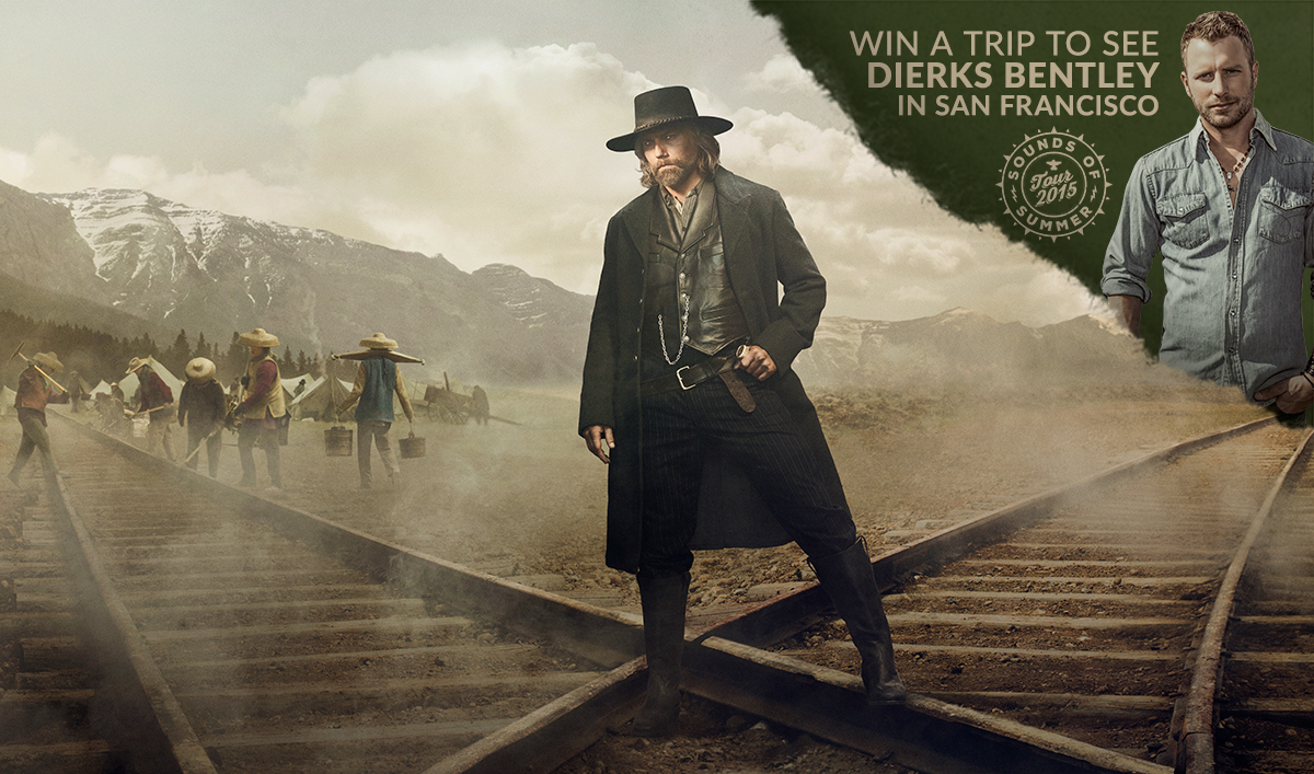 Enter the <em>Hell on Wheels</em> Raise Hell Sweepstakes for a Chance to Meet Dierks Bentley