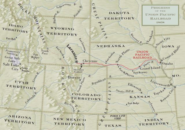 Hell On Wheels Hell On Wheels Season Transcontinental Railroad - Us transcontinental railroad map