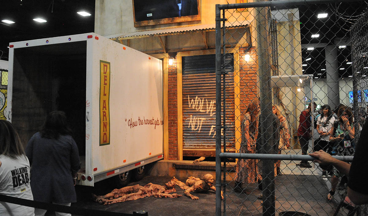 Your First Look at The Walking Dead Booth at Comic-Con 2015