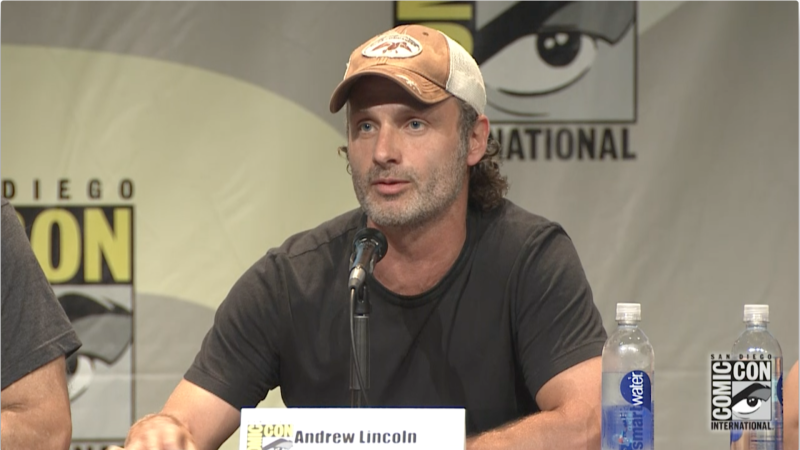 Andrew Lincoln on His Beard: Comic-Con Panel Highlights: The Walking Dead: Season 6