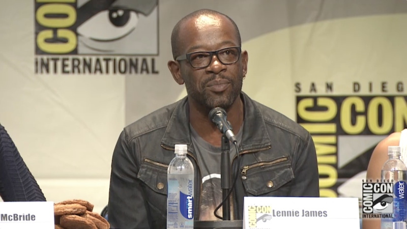 Morgan and Rick's Man-Love: Comic-Con Panel Highlights: The Walking Dead: Season 6
