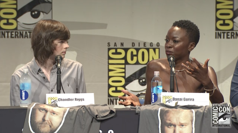 Teenagers in the Apocalypse: Comic-Con Panel Highlights: The Walking Dead: Season 6