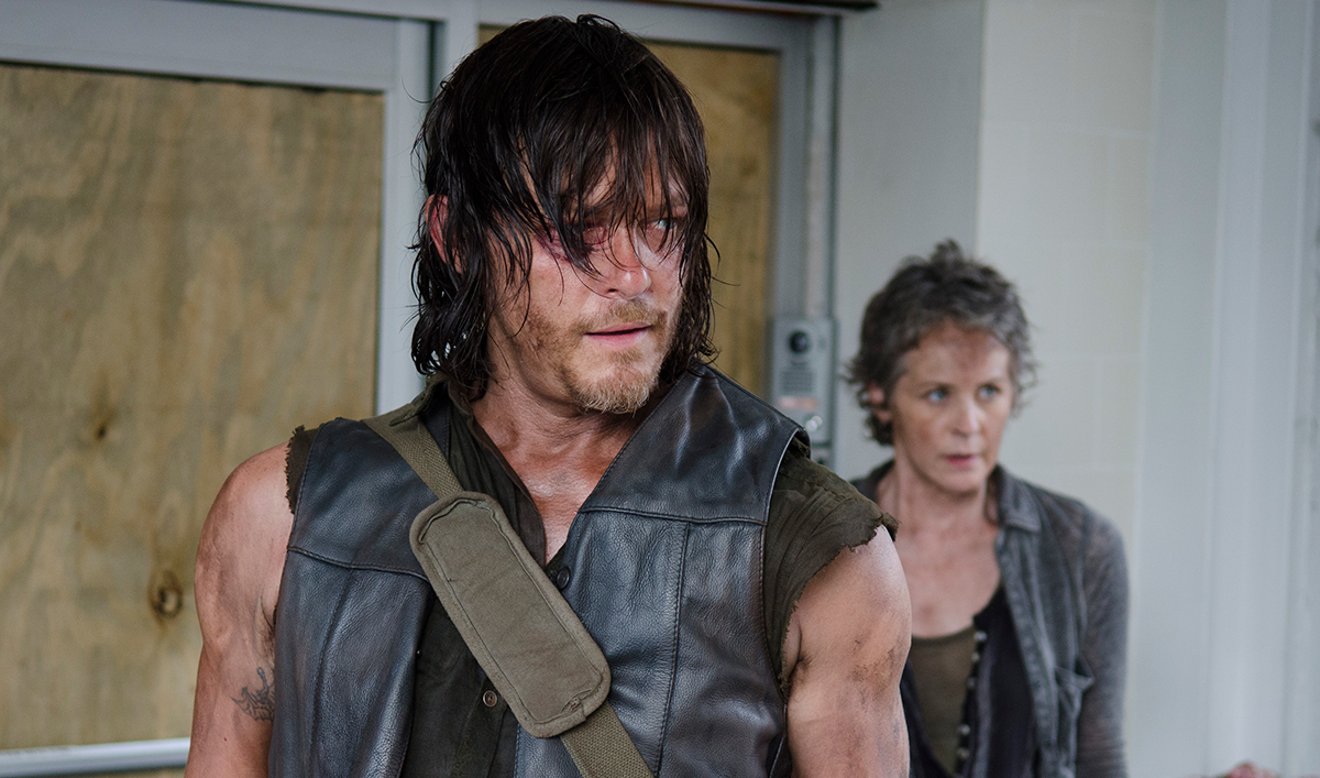 Norman Reedus on Season 6; Emmy Support for Melissa McBride