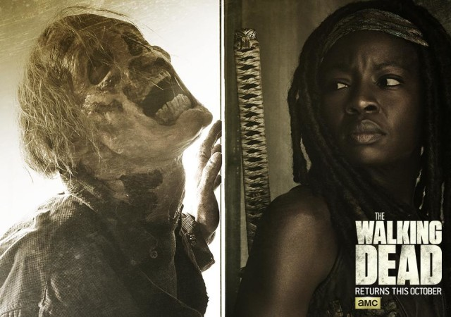 The Walking Dead Season 6 Walkers